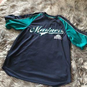 Vintage Seattle Mariners baseball jersey shirt